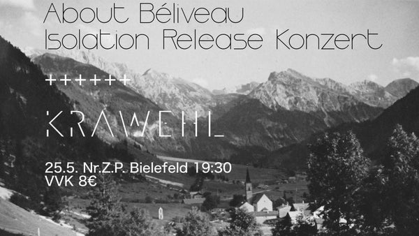 Image of Ticket Bielefeld - Releaseshow About Béliveau & Krawehl