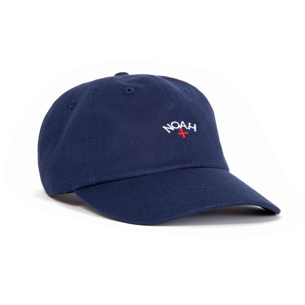Image of NOAH - Core Logo Dad Hat (Navy)