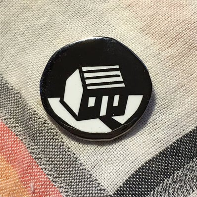 "Image of .75"" Home Enamel Pin"
