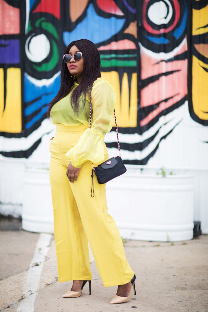 Image of SOLD OUT! BRIA YELLOW CO ORD SET