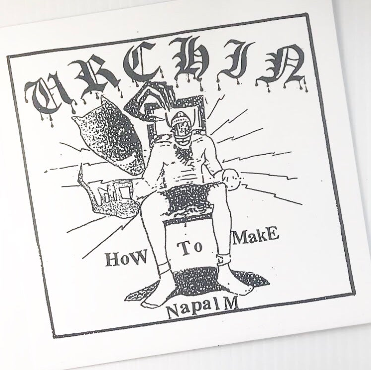 "Image of Urchin ""How To Make Napalm"" EP"