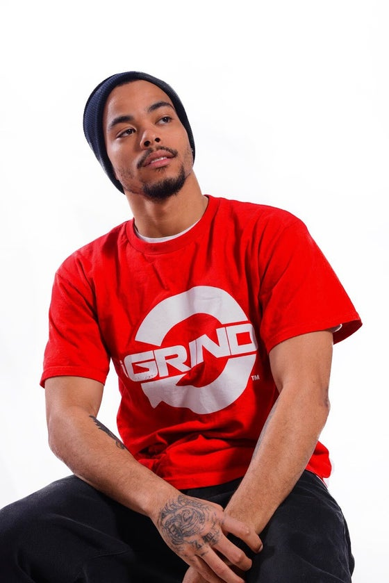 Image of iGRIND RED T-SHIRT