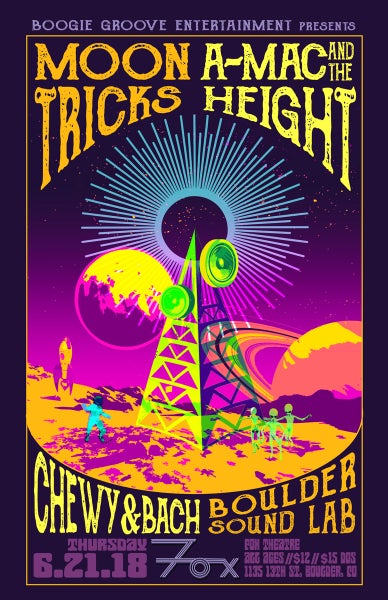 Image of GA Ticket: A-Mac & The Height @ The Fox Theatre 6/21/18