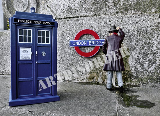 Image of There's no toilet on the Tardis