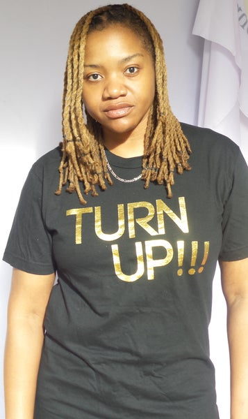 Image of Turn up t-shirt