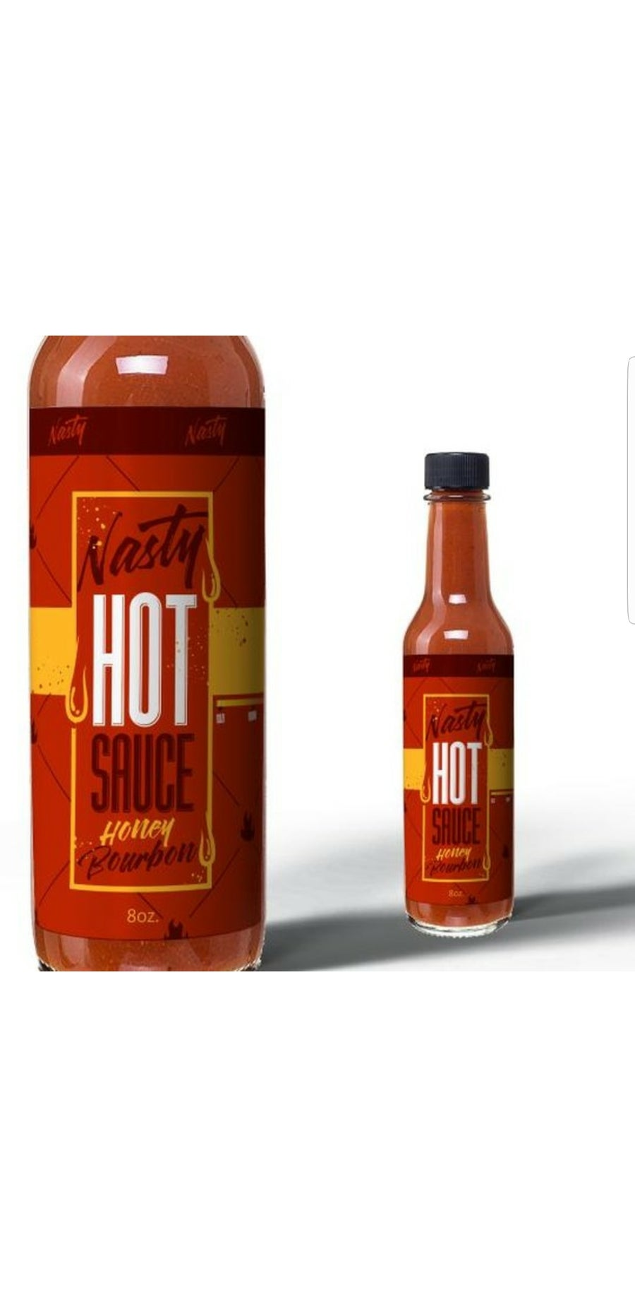 Image of Nasty Honey Bourbon Hot Sauce