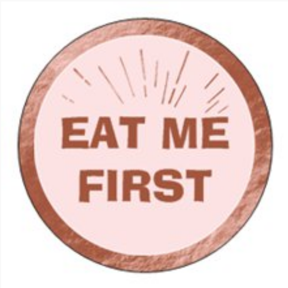 Image of Eat Me First day dot stickers x20