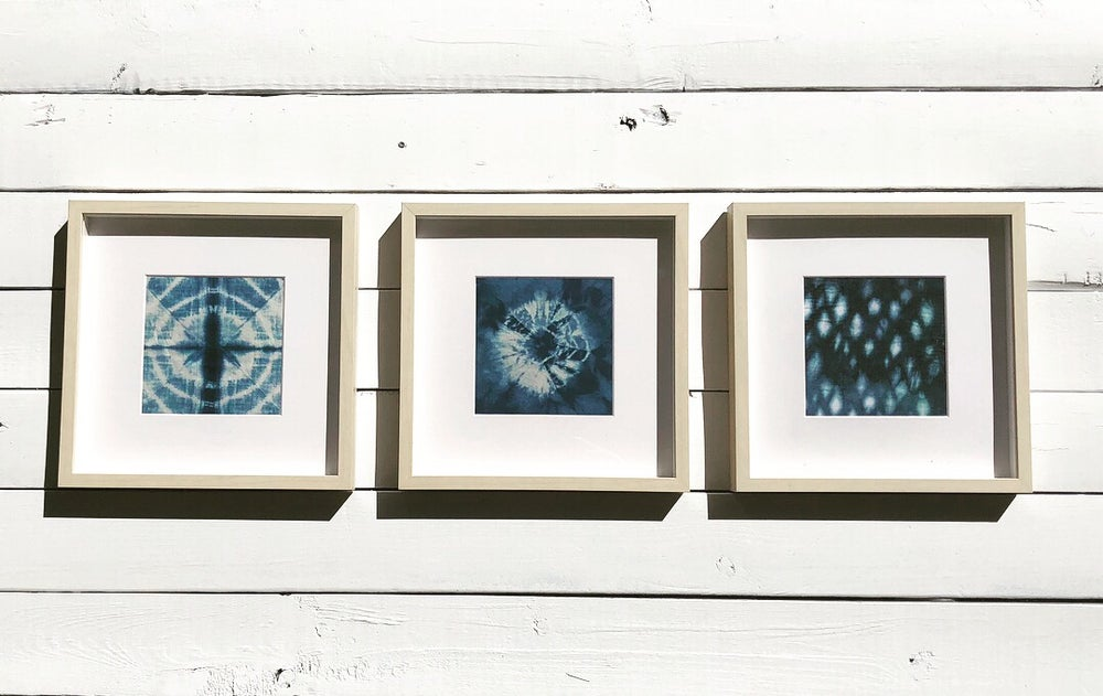 Image of Original Frame Shibori Fabric