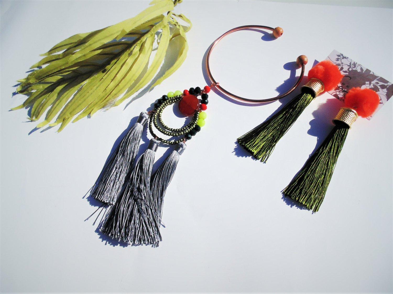 Image of Marvel Magic Tassel Necklace