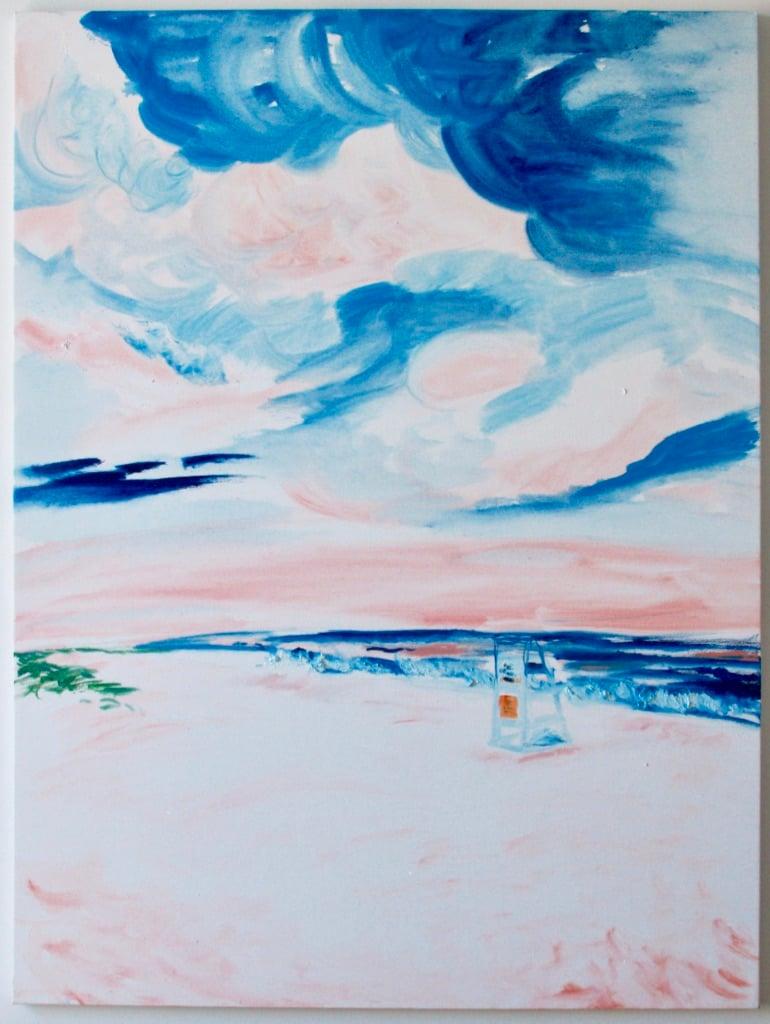 "Image of Main Beach sunset, East Hampton, 30""x40"""