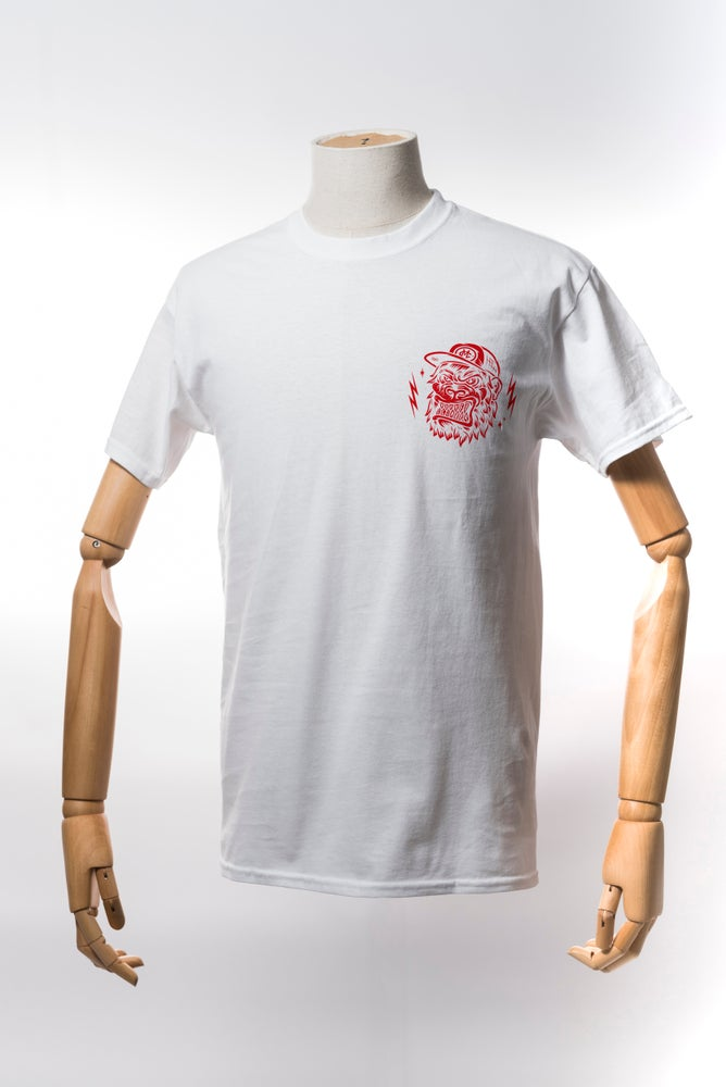 Image of Monkey Climber APE shirt I White