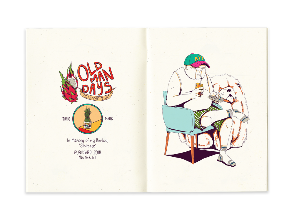 Image of Old Man Days: Volume 2 Zine