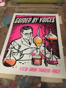 Image of Guided By Voices - 4-17-18 Philadelphia poster