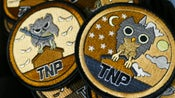 Image of TNP Owl Patches (Sand)