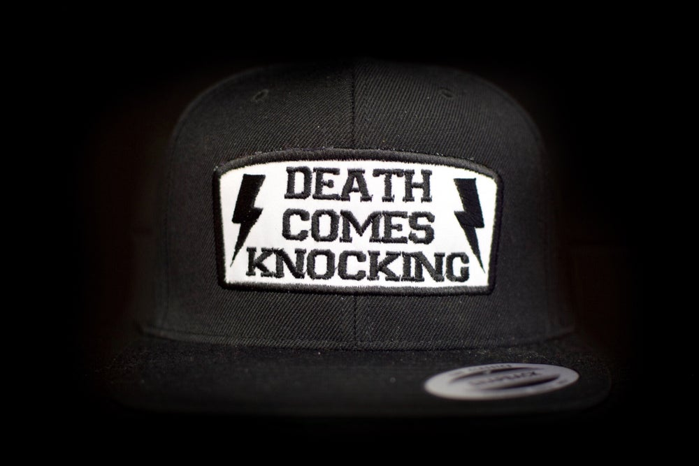 Image of Death Comes Knocking SnapBacks