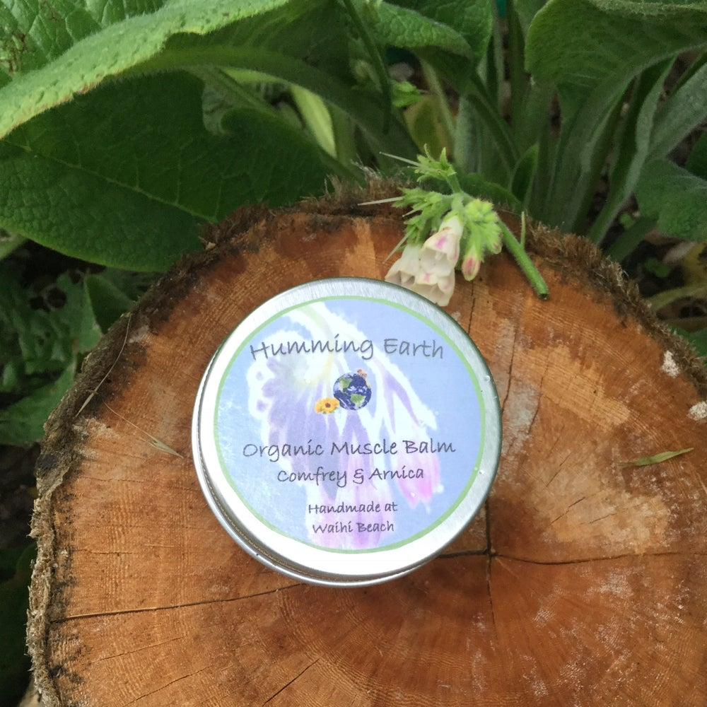 Image of Comfrey and Arnica Muscle Balm 50g