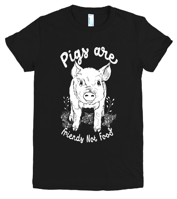 Image of Pigs are friends not food