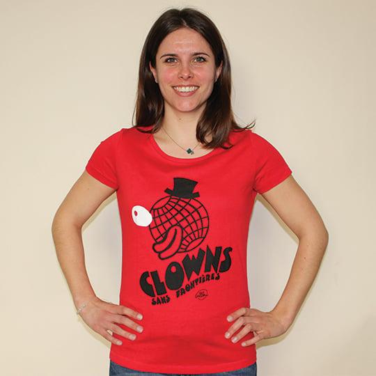 Image of T-shirt femme / Rouge