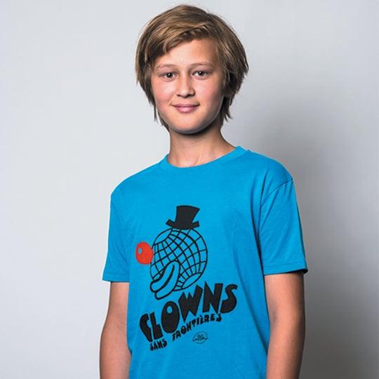 Image of T-shirt enfant / Bleu azur