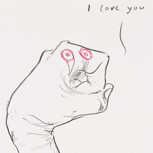 Image of I love you, part of No Title (Series of 8)