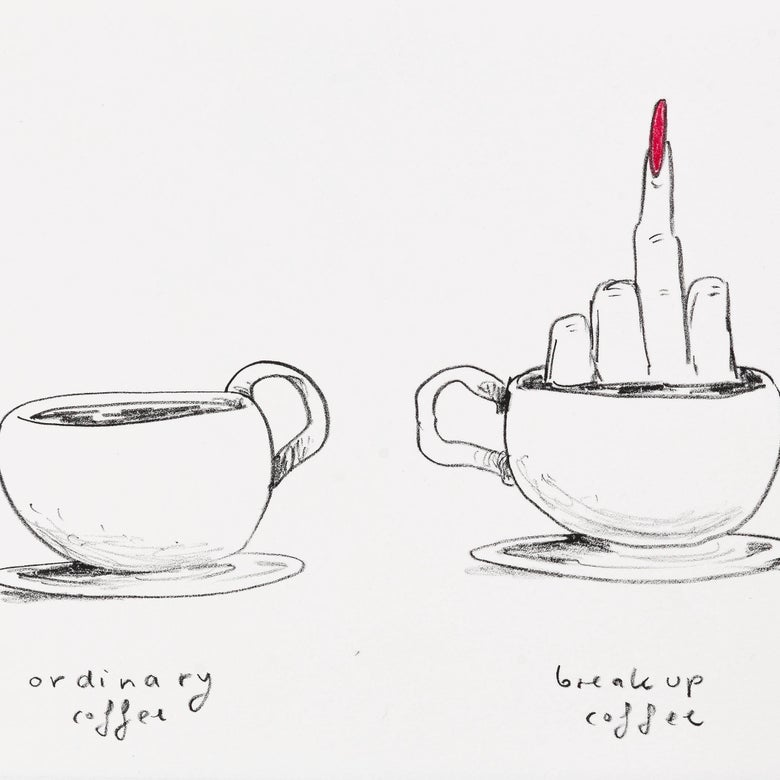 Image of Break up Coffe, Part of No Title (Series of 8)