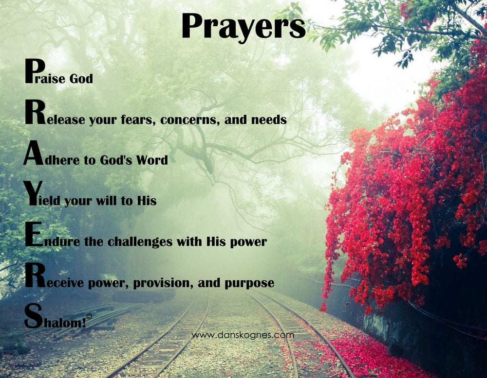 Image of Prayers Magnet - Set of 10 Magnets