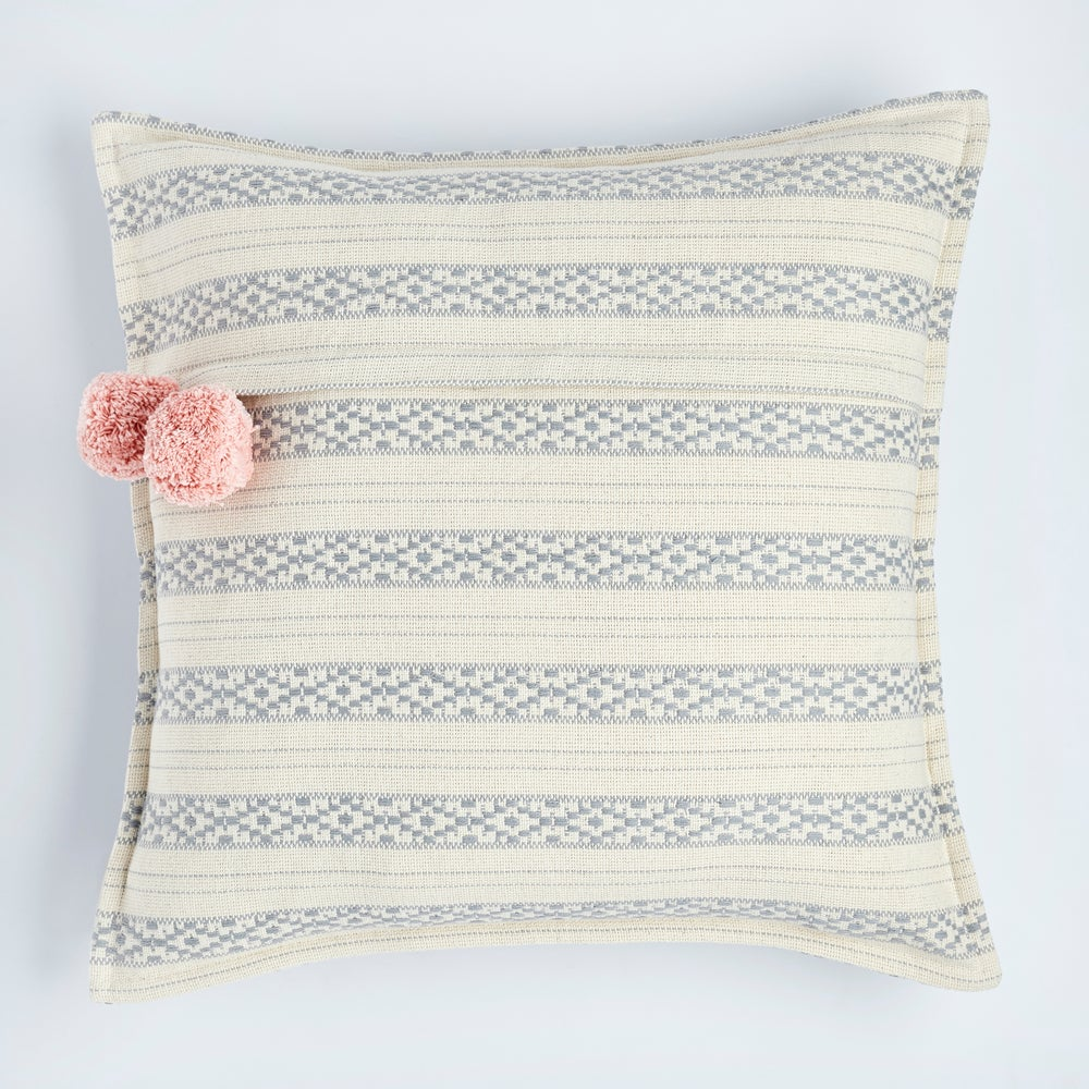 Image of P o l k u cushion, graphite grey