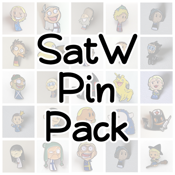 Image of SatW Pin Pack