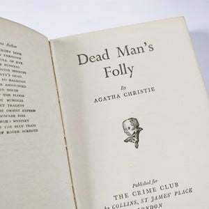 Image of Agatha Christie - Dead Man's Folly - First Edition 1956