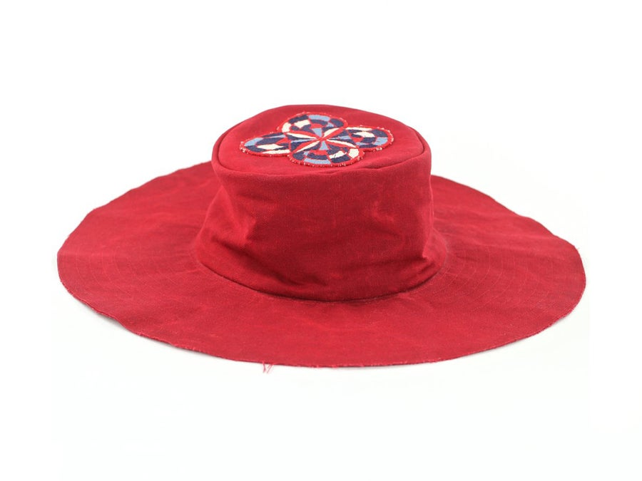 Image of Red Brim Hat