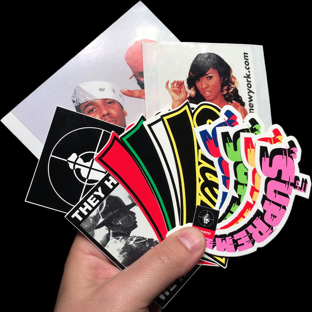 Image of 2006 Stickers (Esther Baxter/Public Enemy/Dipset)
