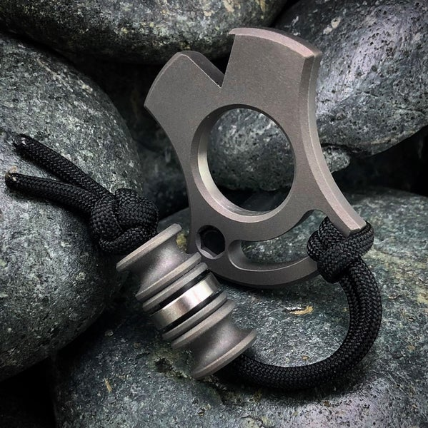 Image of Slim VonKnuck & Triple Modular bead set Combo Blasted/Machined
