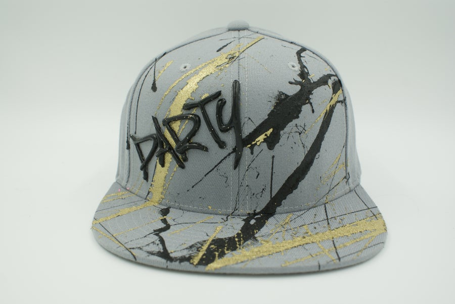 Image of CAP SPLATCH ACRYLIC- REF 142