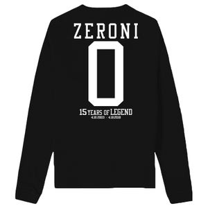 Image of 15th Year Anniversary ZERONI Jersey Long Sleeve T Shirt | Exclusive Release