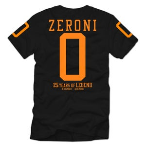 Image of 15th Year Anniversary ZERONI T Shirt | Exclusive Release