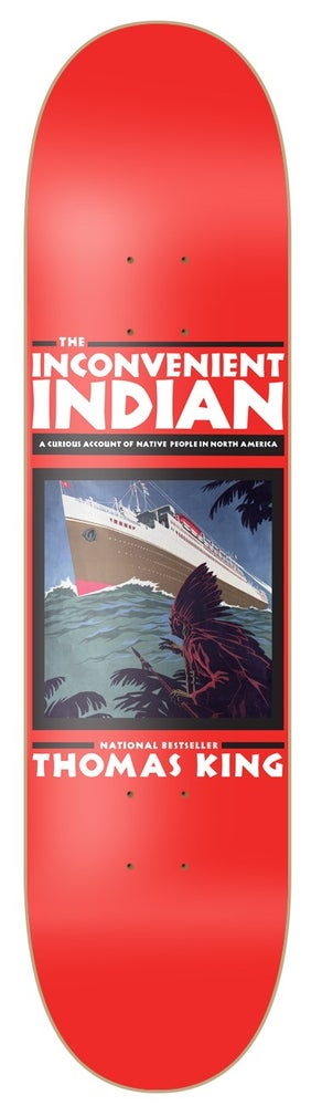 Image of Thomas King - The Inconvenient Indian board