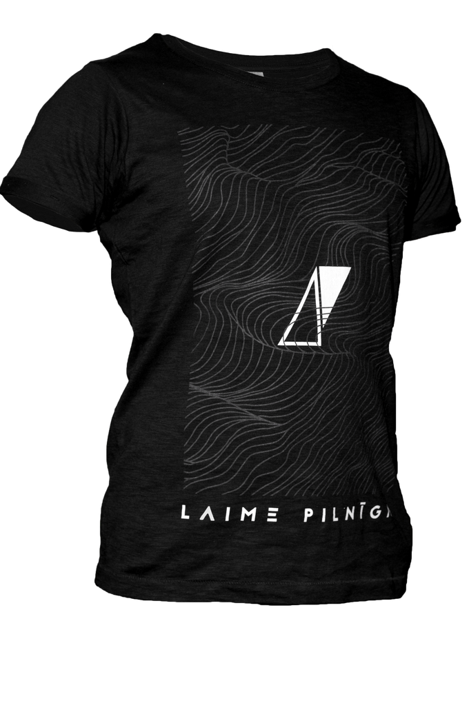 "Image of Laime Pilniga ""LP"" trendy unisex T-shirt"