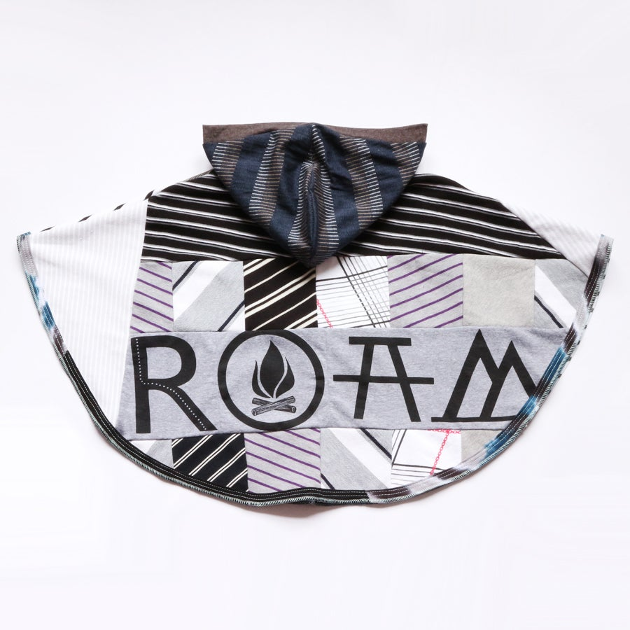 Image of ROAM the world 6/7/8 collaboration blackbird supply wanderlust poncho