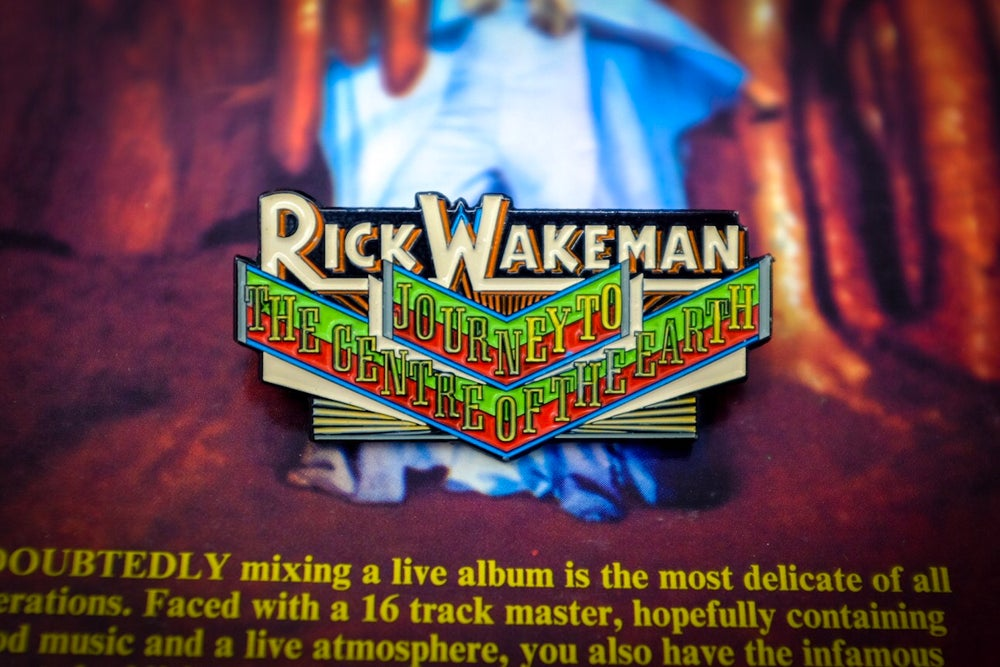Rick Wakeman - Journey To The Centre of the Earth Enamel Pin