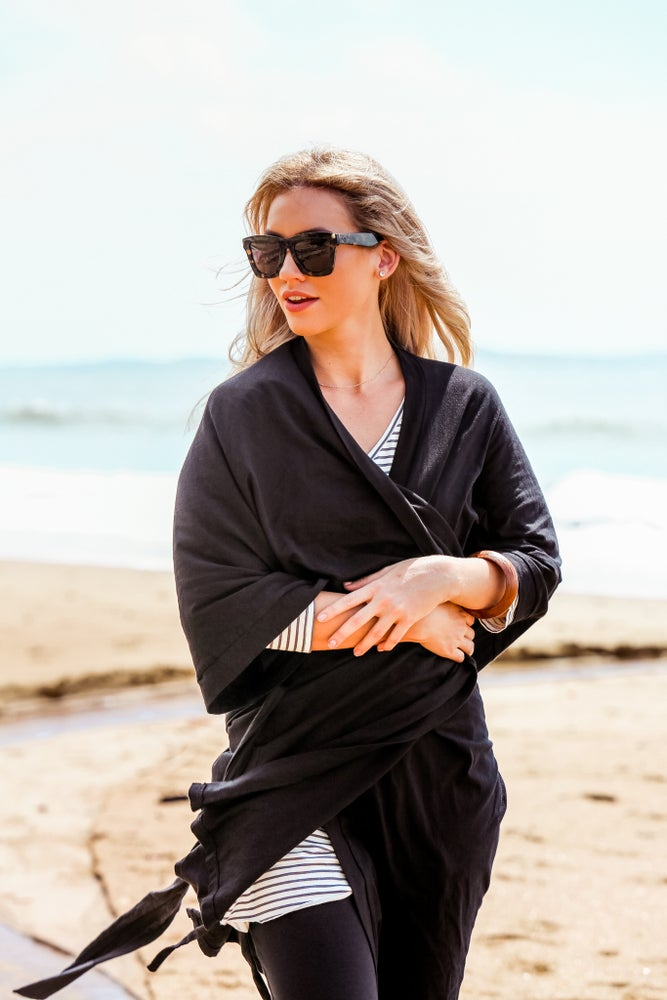 Image of Travel Robe - Black