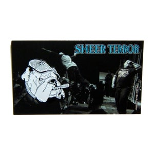 "Image of SHEER TERROR ""Bulldog"" Enamel Pin"