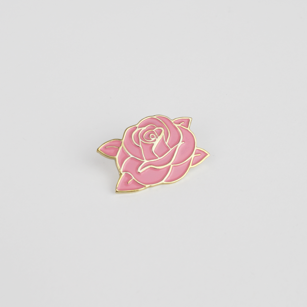 Image of CLASSIC SWARM ROSE PIN (PINK)