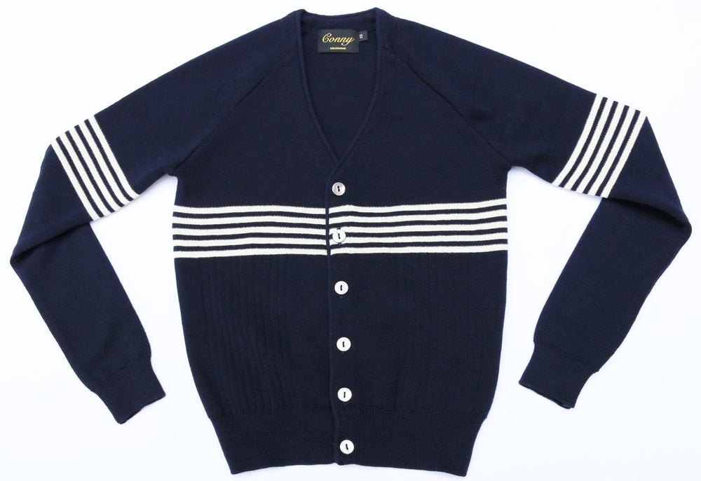 Image of Westside Conny - Navy Blue with white Stripe - PRE ORDER