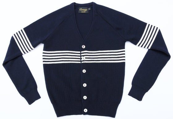 Image of Westside Conny - Navy Blue with white Stripe