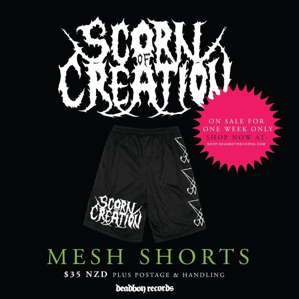 Image of Scorn of Creation - Sigil Mesh Shorts