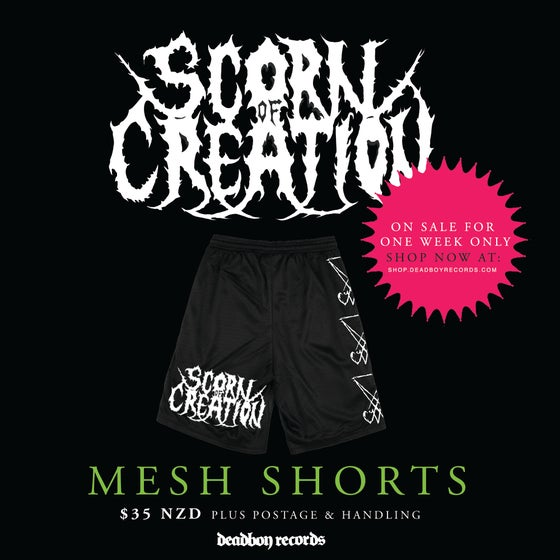 Image of Scorn of Creation - Sigil Mesh Shorts