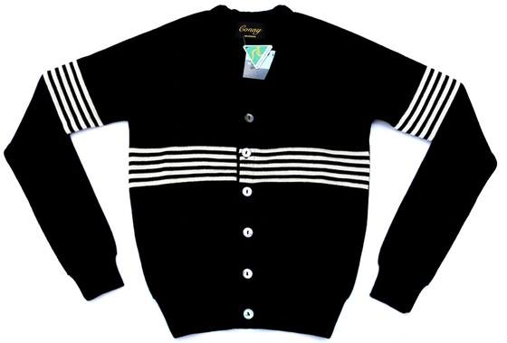 Image of Westside Conny Black with White stripe