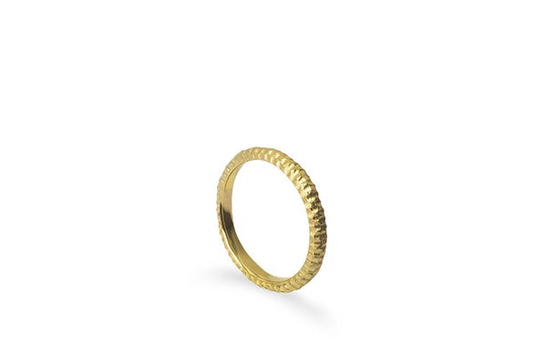 Image of Rock Ring 18K Gold