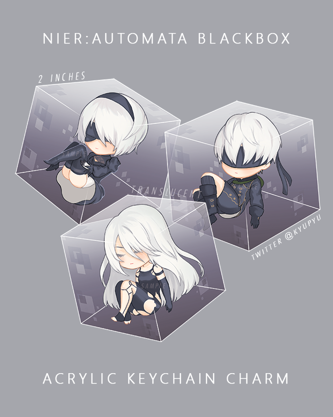 Image of ■ Nier Automata Blackbox Charms ■