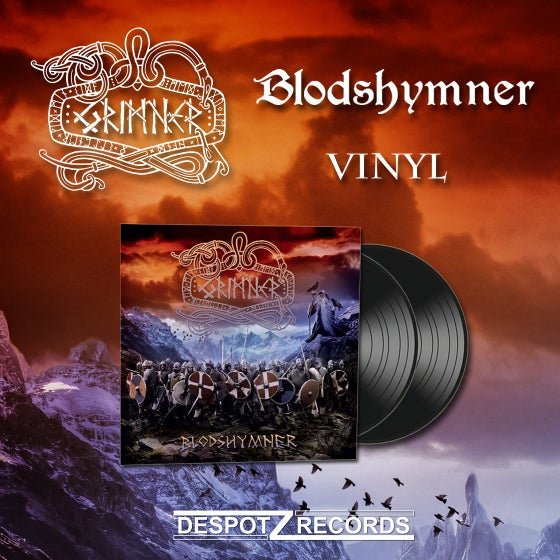 Image of Grimner - Blodshymner (Limited 2xVinyl)